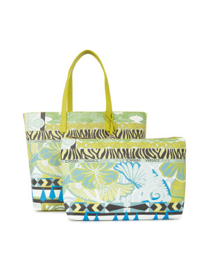 Versace Jeans 2n1 Print dis01 Reversible Shopper Bag