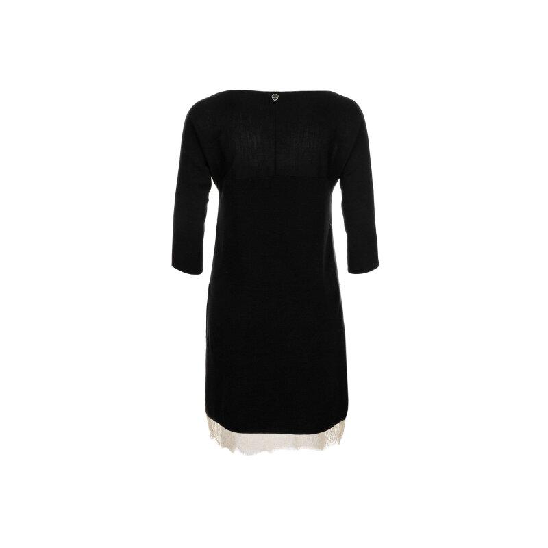 Sukienka + halka Twinset czarny