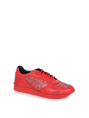 Kenzo SNEAKERSY RUNNING E17 TIGER RED