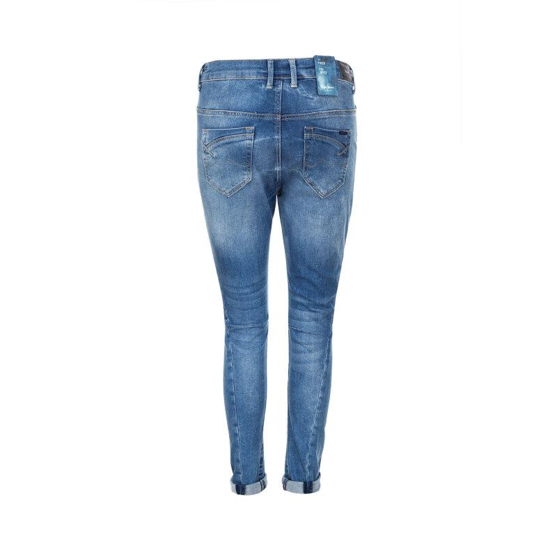Boyfriendy Hopsy Pepe Jeans London niebieski