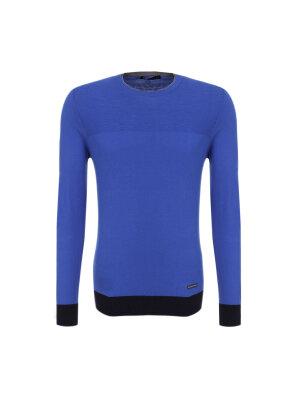 Trussardi Jeans Sweter Girocollo Tre Colori