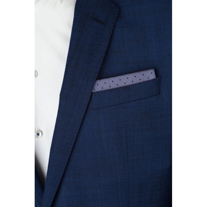 Pocket square Hugo navy blue