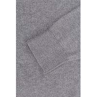 Sweter Plaited CTN Silk V-nk Tommy Hilfiger popielaty