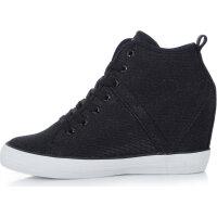 Sneakersy Jilly Guess czarny