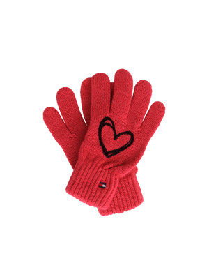 Tommy Hilfiger Rękawiczki Heart