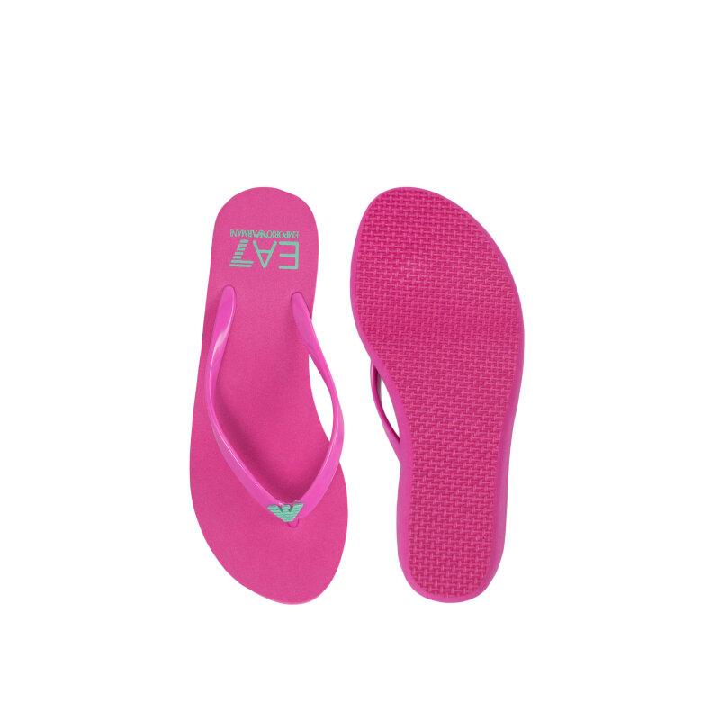 Flip flops EA7 pink