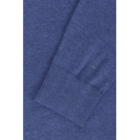 Sweter THDM Basic CN Hilfiger Denim niebieski