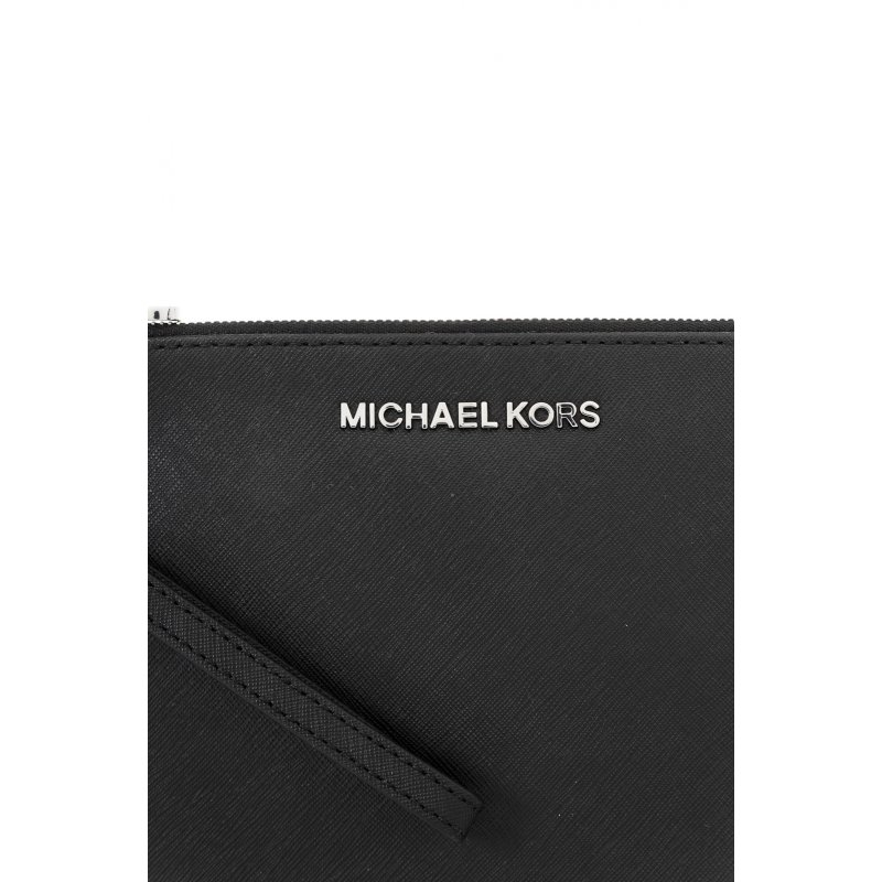 Jet Set Travl Clutch Michael Kors black
