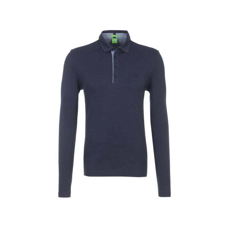 C-Tivoli 1 Long Sleeve Polo Shirt  Boss Green granatowy