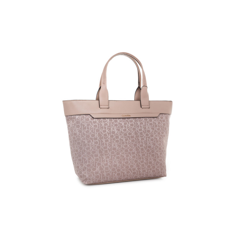 Lara Large Shopper bag Calvin Klein Jeans beige