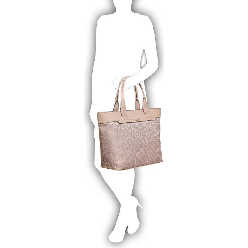 Shopperka Lara Large Calvin Klein Jeans beżowy