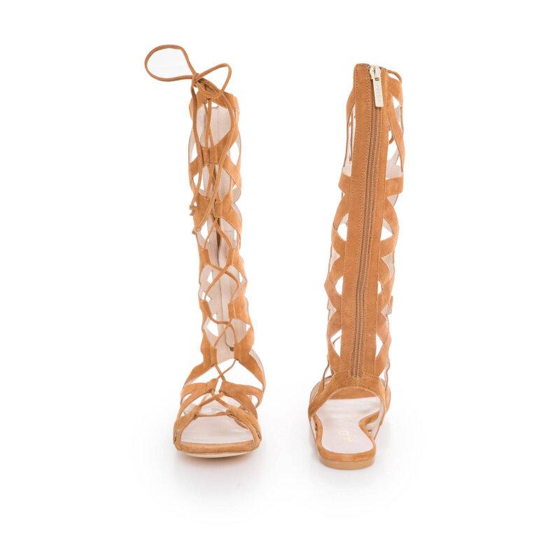 Mierve gladiator sandals. Liu Jo brown
