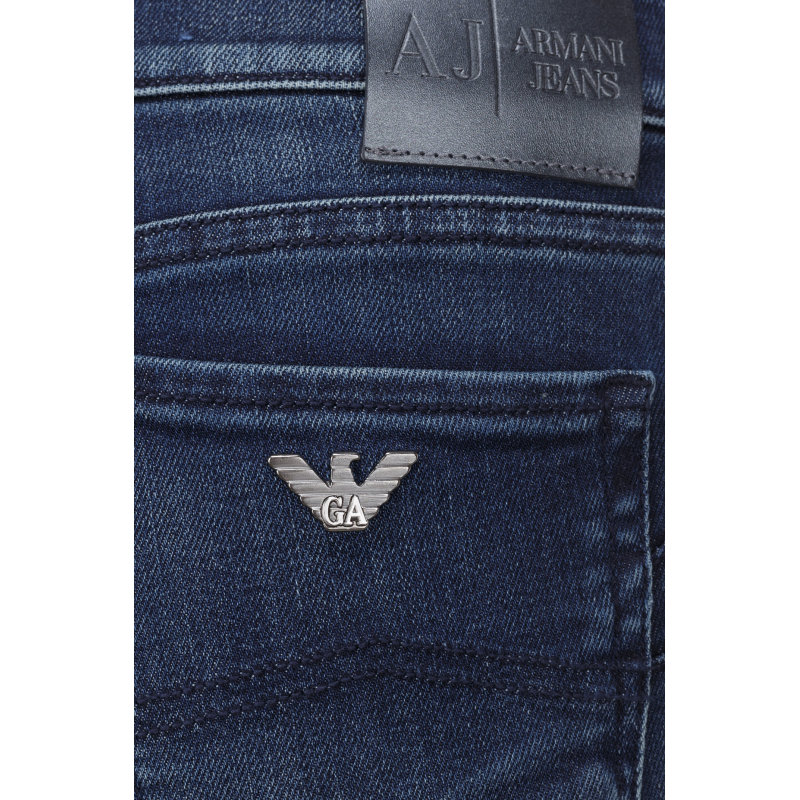 Jeansy J23 Armani Jeans granatowy