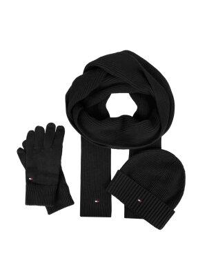 Tommy Hilfiger Czapka + szal + rękawiczki