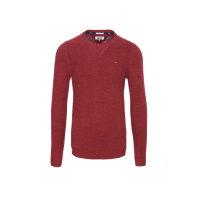 Sweter THDM Basic CN Hilfiger Denim czerwony