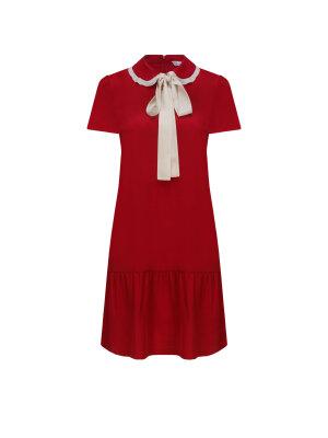 Red Valentino Jedwabna sukienka
