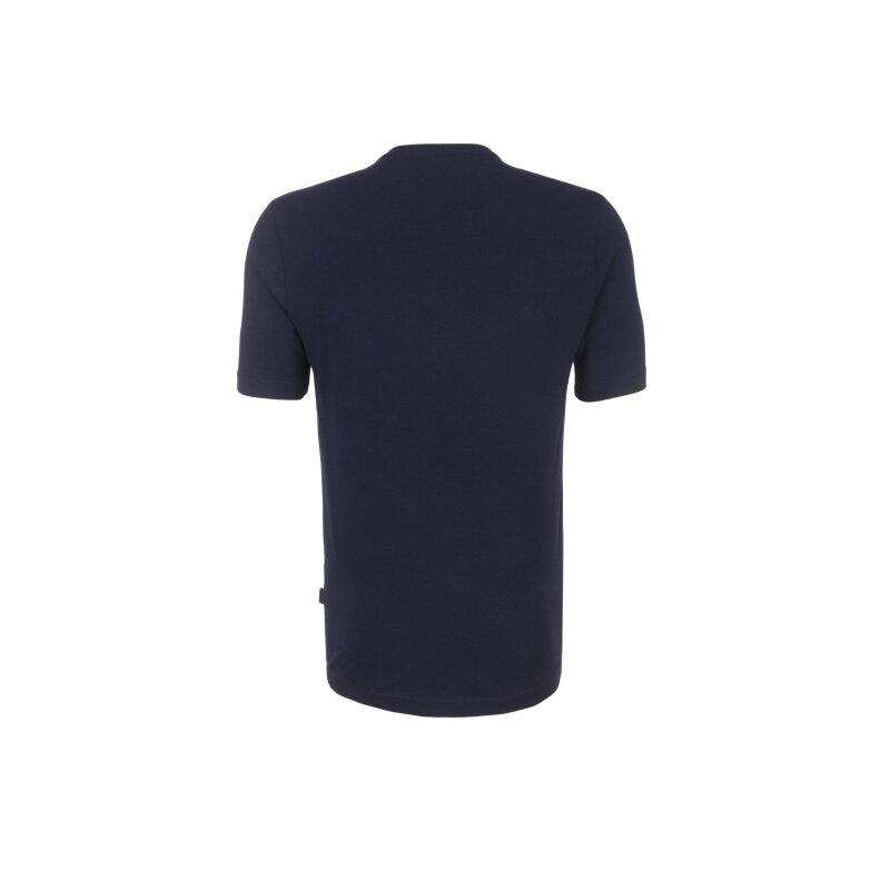 T-shirt Love Moschino granatowy