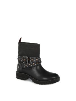 Pepe Jeans London Helen Motorcycle Boots