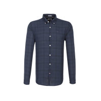 THDM Check Shirt Hilfiger Denim navy blue