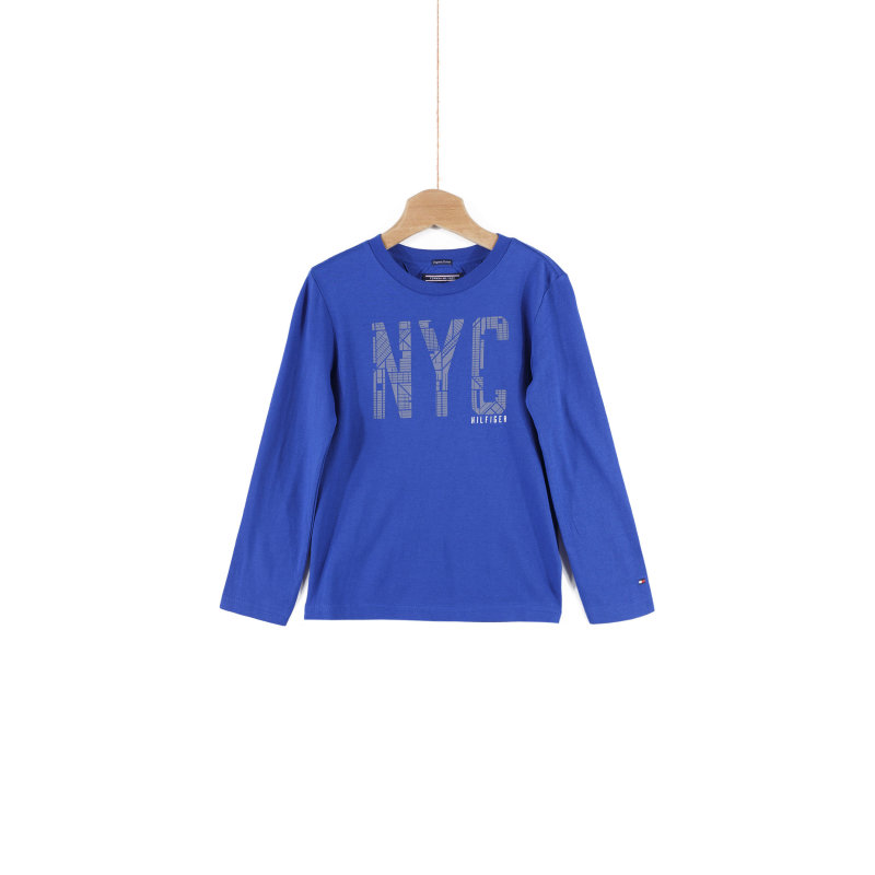 Longsleeve NYC Tommy Hilfiger niebieski