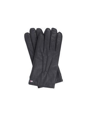 Tommy Hilfiger Skórzane rękawiczki Basic
