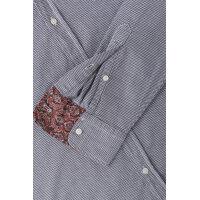 Koszula Trussardi Jeans granatowy