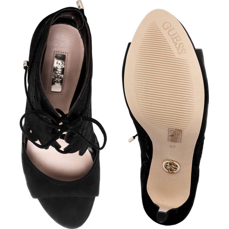 Sandały Anny Guess czarny