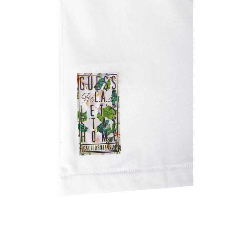 T-shirt Guess biały