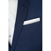Poszetka Tommy Hilfiger Tailored niebieski