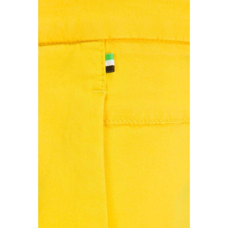 Chino Liem-1-W Shorts Boss Green yellow