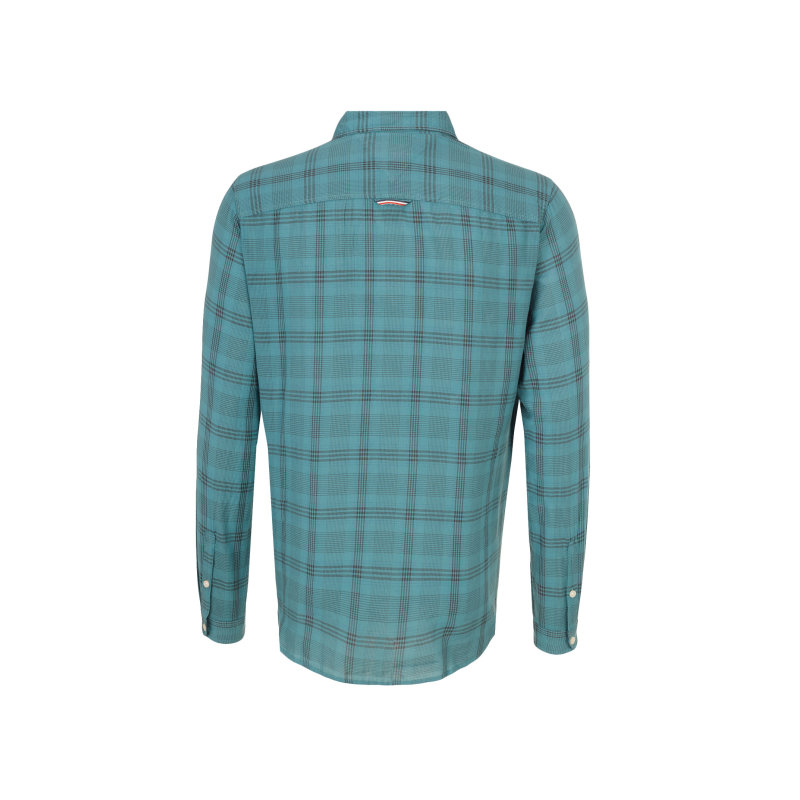 THDM Check Shirt Hilfiger Denim turquoise