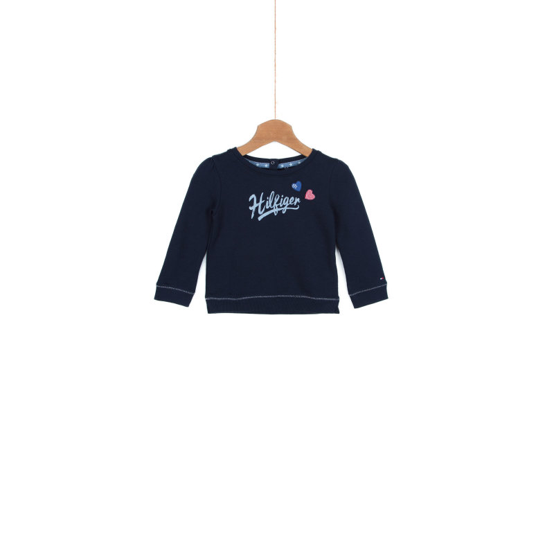 Bluza Tommy Hilfiger granatowy