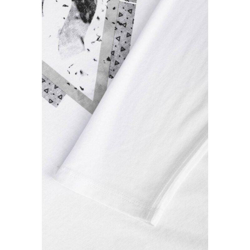 Longsleeve Splinter Guess Jeans biały