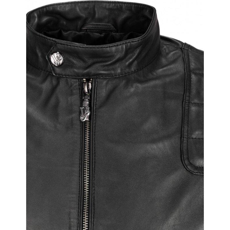 Kurtka Skórzana Versace Jeans czarny