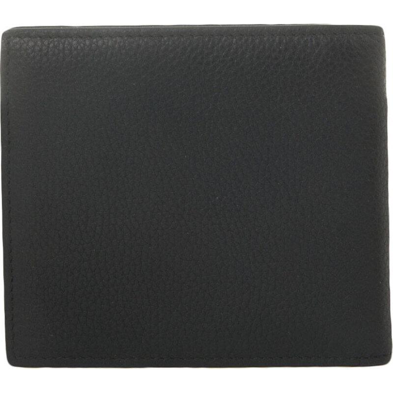 Portfel+Wizytownik GbH16PF_8cc Hugo czarny