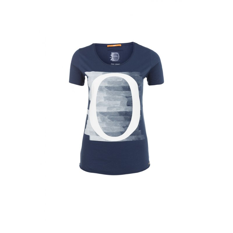 Tishirt T-shirt Boss Orange navy blue