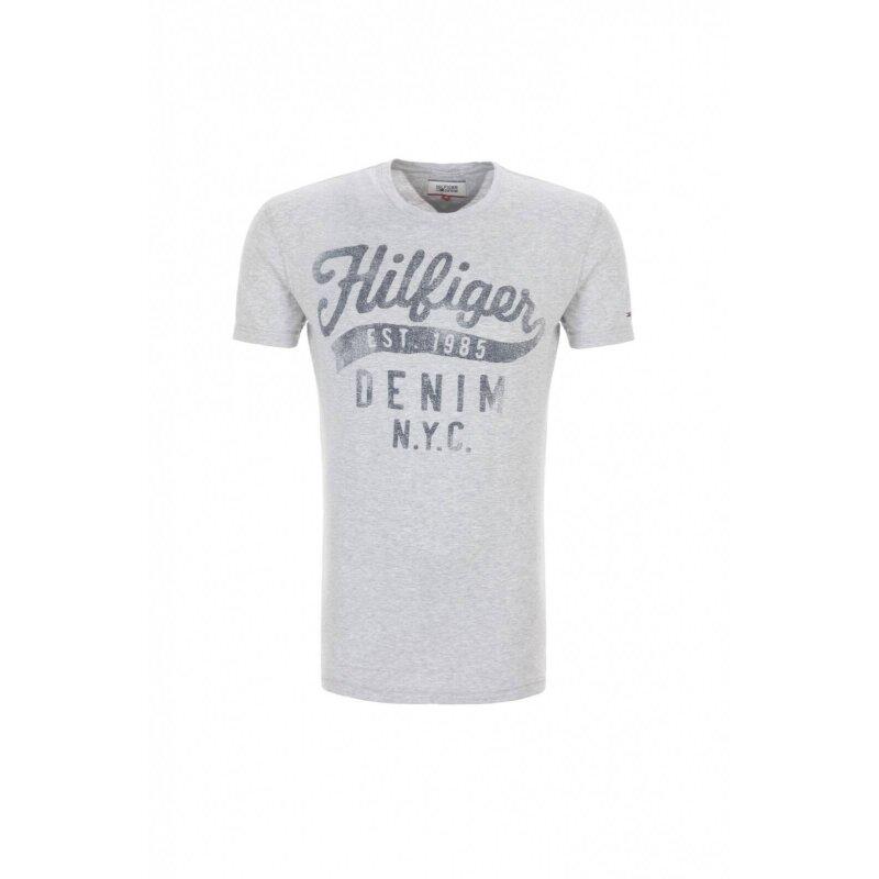 THDM CN T-shirt Hilfiger Denim gray