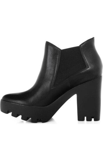 Botki Sandy Calvin Klein Jeans czarny