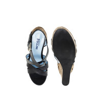 Wedges Pollini black