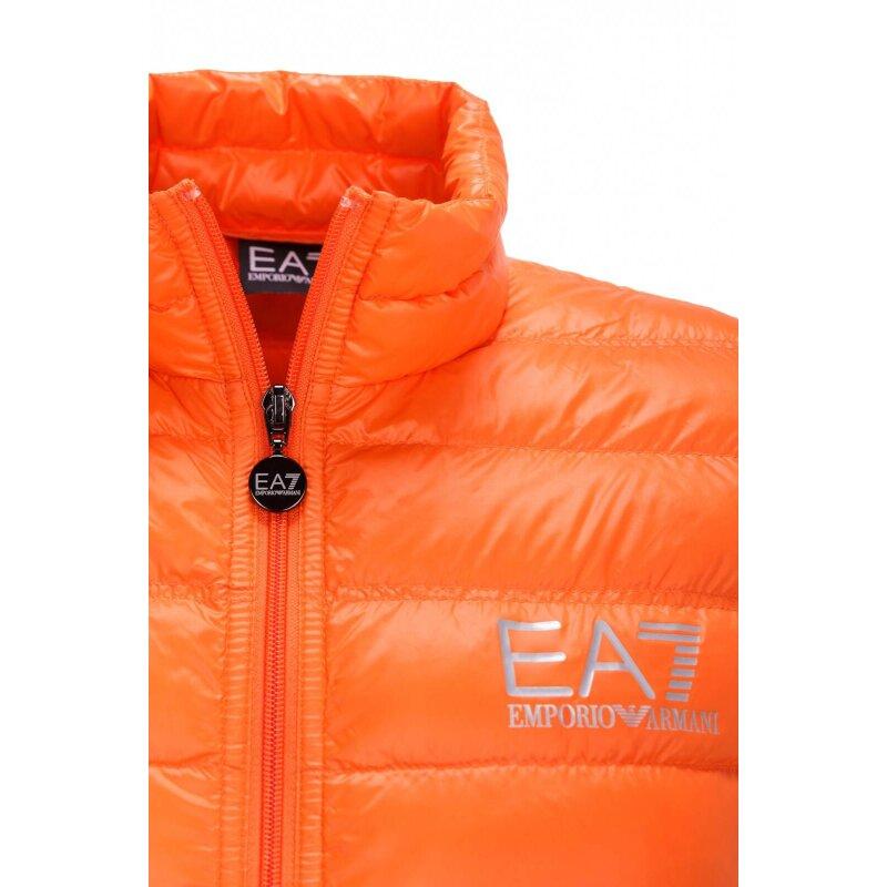 Bezrękawnik EA7 pomarańczowy