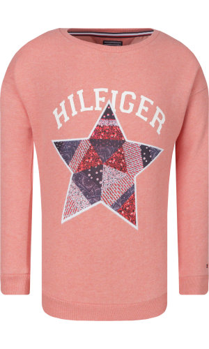 Tommy Hilfiger Bluza STAR PATCH CREW NECK | Regular Fit