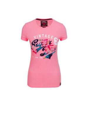 Superdry T-shirt Stacker Flock
