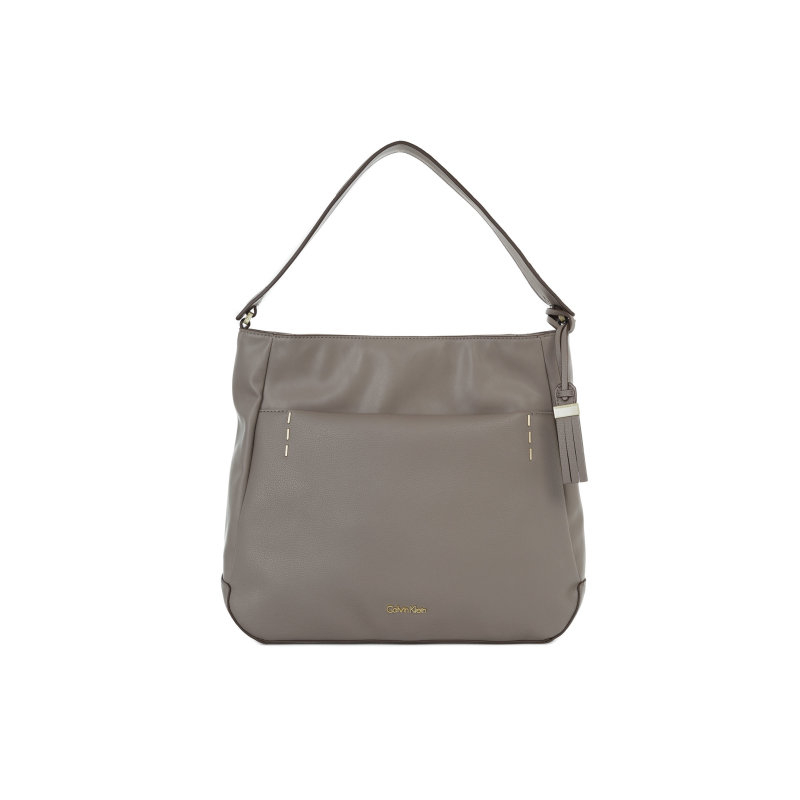 Lily hobo bag Calvin Klein gray