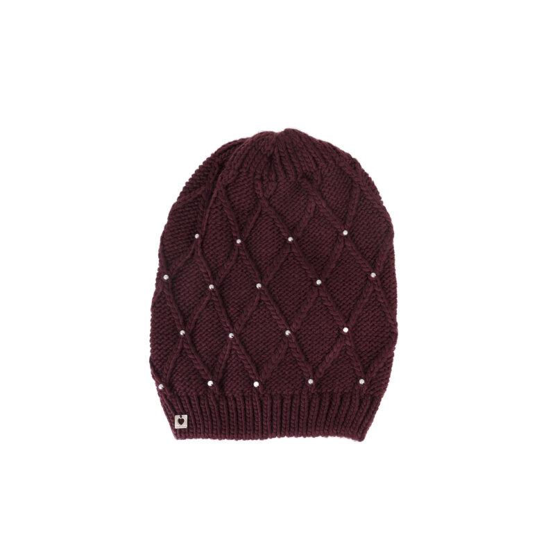 czapka Twinset bordowy