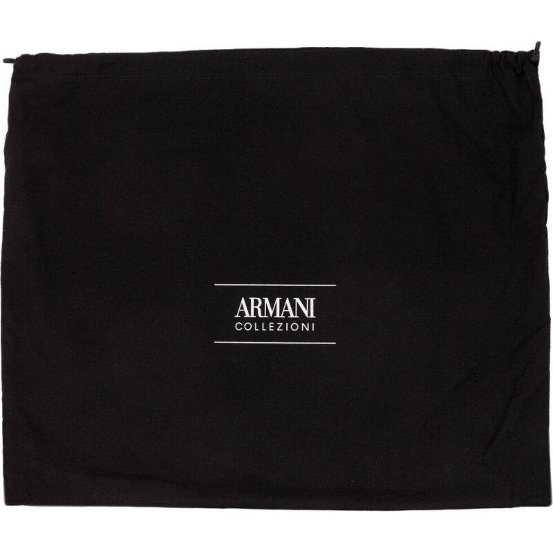 Półbuty Armani Collezioni czarny