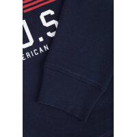 Bluza YC. Flag Gant granatowy
