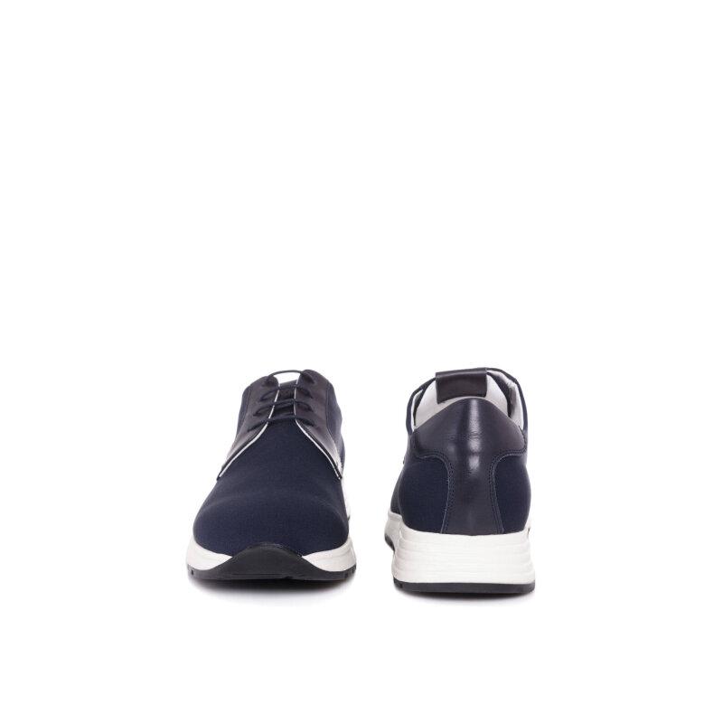 Sneakersy Armani Collezioni granatowy