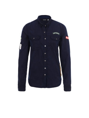 Superdry Koszula Patched Military