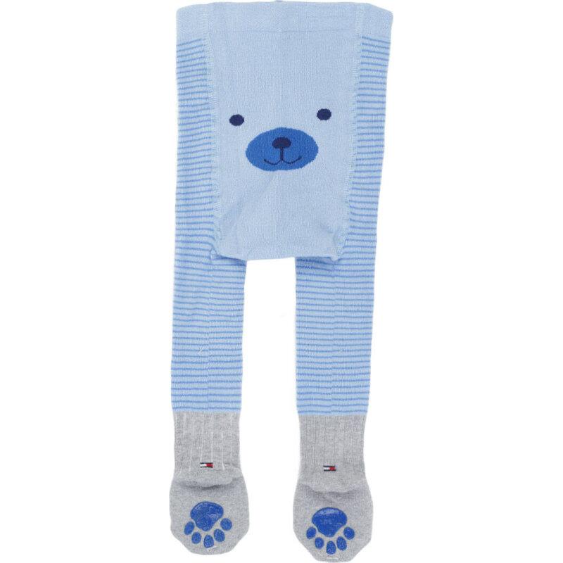 Rajstopy Stripy Tommy Hilfiger niebieski