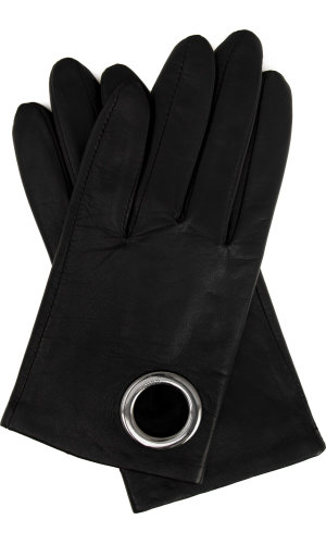 Hugo DH 73 leather gloves